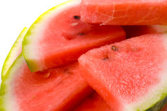Watermelon slices. Stock Images