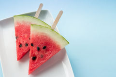 Watermelon Slices Stock Photo
