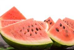 Watermelon slices royalty free stock photo