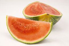Watermelon Slices Large Melon Fruit Stock Photography