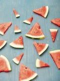 Watermelon slices Stock Image