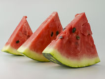 Watermelon slices Stock Photos