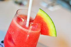 Watermelon smoothie Royalty Free Stock Photo
