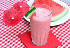 Watermelon Smoothie Royalty Free Stock Images