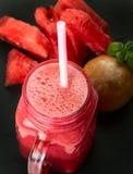 Watermelon smoothie stock image