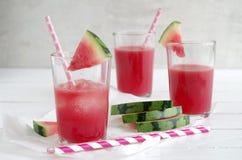 Watermelon smoothie Royalty Free Stock Photos