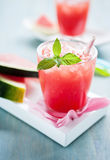 Watermelon smoothies Royalty Free Stock Image