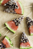 Watermelon snack Stock Photography