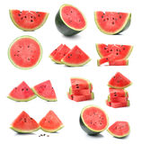 Watermelon  solated on white background Royalty Free Stock Photography