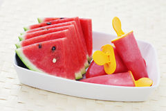 Watermelon sorbet Royalty Free Stock Photography