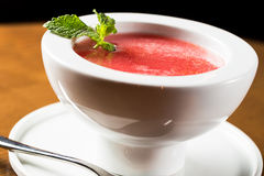 Watermelon soup Stock Images