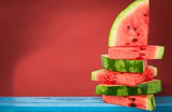 Watermelon Stack royalty free stock photo