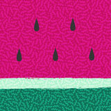 Watermelon summer background abstract design Stock Image