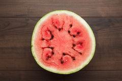 Watermelon on the table Royalty Free Stock Images