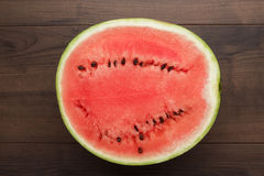 Watermelon on the table Royalty Free Stock Photography