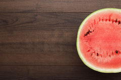 Watermelon on the table Royalty Free Stock Photos