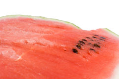 Watermelon texture over white Stock Image