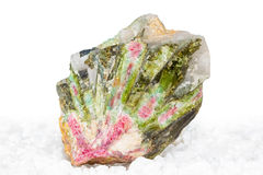 Watermelon tourmaline crystals Royalty Free Stock Photos