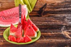 Watermelon triangle Royalty Free Stock Photo