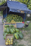 Watermelon truck Stock Photos