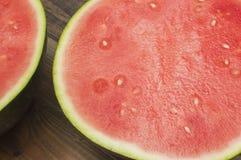 Watermelon. Two halves of Stock Photos