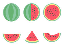 Watermelon vector design summer style Stock Photography
