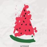 Watermelon vector Royalty Free Stock Photo
