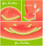 Watermelon Vectors Royalty Free Stock Photos