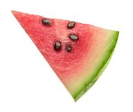 Watermelon Wedge. Isolated on a white background. Isolation is on a transparent layer in the PNG format royalty free stock photography