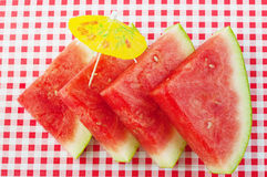 Watermelon wedges Royalty Free Stock Image