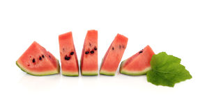 Watermelon Wedges Royalty Free Stock Photos