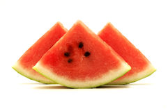 Watermelon Wedges Stock Photos