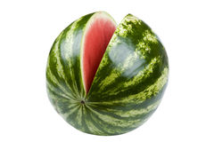 Watermelon on white Royalty Free Stock Photography