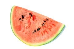 Watermelon on white. Stock Photos
