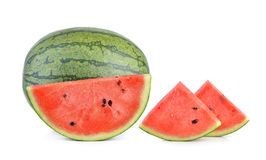 Watermelon on white background Royalty Free Stock Image