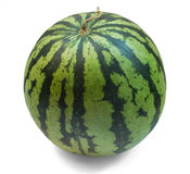 Watermelon on a white background File contains the path to cut. Royalty Free Stock Images