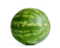 Watermelon on white background. File contains a path to isolation. Royalty Free Stock Images