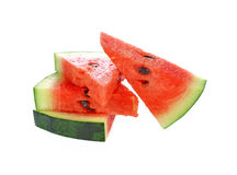 Watermelon on white background Royalty Free Stock Photo