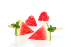 Watermelon on  white background. Stock Photography