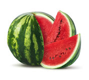 Watermelon  on white background Stock Image