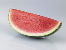 Watermelon with wrapper Stock Image