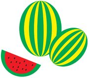 Watermelones Royalty Free Stock Image