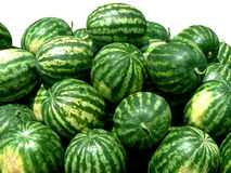 Watermelons isolated Royalty Free Stock Photos