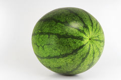 Watermelron isolated. Water melon isolated on white background Stock Photos