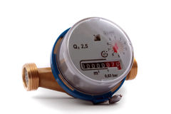 Watermeter Royalty Free Stock Images
