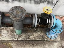 Watermeters stock fotografie