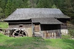 Watermill, Kvacany,斯洛伐克 免版税图库摄影