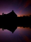 Watermill à l'aube Images libres de droits