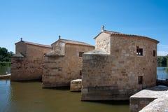 Watermill à Zamora Photographie stock libre de droits