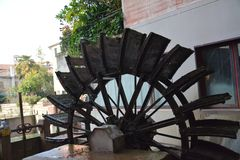 Watermill ένα Treviso Στοκ Εικόνες